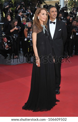 "CANNES, FRANCE - MAY 20, 2011: Marisa Berenson at the premiere of ""This Must Be The Place"" in competition at the 64th Festival de Cannes. May 20, 2011  Cannes, France"
