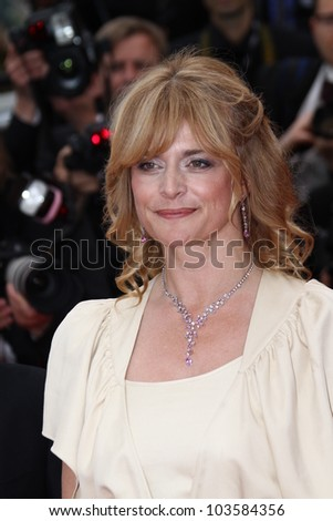 CANNES, FRANCE - MAY 21:  Nastassja Kinski attends the 'Vous N'avez Encore Rien Vu' premiere during the 65th  Cannes  Festival at Palais des Festivals on May 21, 2012 in Cannes, France