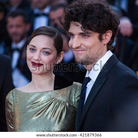 Cannes, France - 15 MAY 2016 - Nicole Garcia, Alex Brendemuhl, Marion Cotillard and Louis Garrel attend the 'From The Land Of The Moon (Mal De Pierres)' premiere during the 69thl Cannes Film Festival