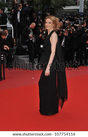 "CANNES, FRANCE - MAY 15, 2010: Pilar Lopez de Ayala at the premiere of Woody Allen's ""You Will Meet A Tall Dark Stranger"" at the 63rd Festival de Cannes."