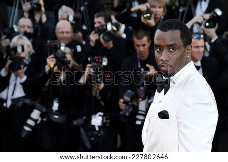CANNES, FRANCE - MAY 22: Singer Sean Combs attends the 'Killing them Softly' premiere during the 65th Cannes film festival on May 22, 2012 in Cannes. - stock photo