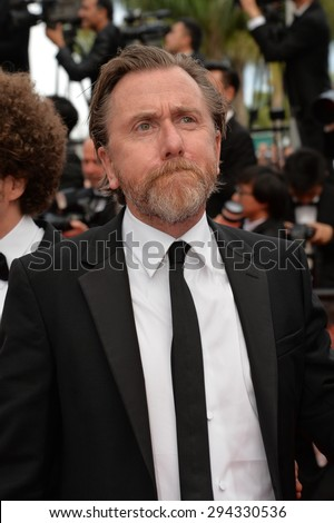 CANNES, FRANCE - MAY 24, 2015: Tim Roth at the closing gala at the 68th Festival de Cannes.