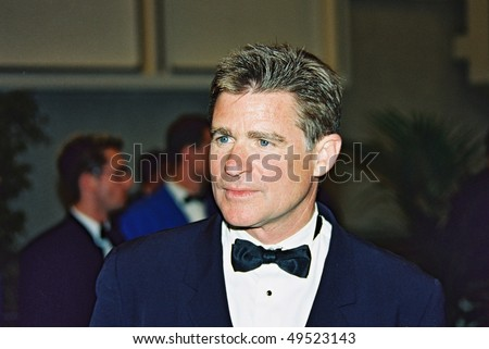 CANNES, FRANCE - MAY 25: Treat Williams attends a screening of 'Hollywood Ending',  at the Grand Theatre during   the 55th Cannes Film Festival  on May 25, 2002 in Cannes, France - stock photo