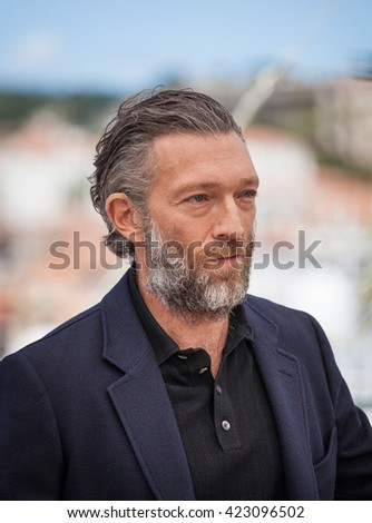 Cannes, France - 19 MAY 2016 - Vincent Cassel attends the 'It's Only The End Of The World (Juste La Fin Du Monde)' Photocall during the 69th annual Cannes Film Festival - stock photo