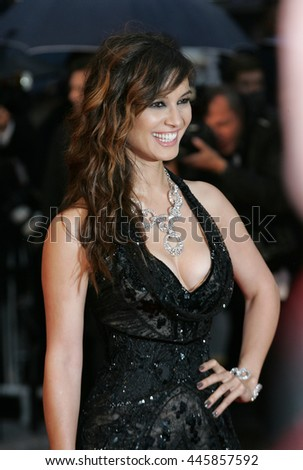 CANNES - MAY 20, 2012: Berenice Marlohe attends the Amour Premiere during the 65th Annual Cannes Film Festival on May 20, 2012 in Cannes - stock photo