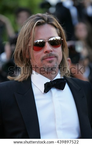 CANNES - MAY 22, 2012: Brad Pitt attends the Killing Them Softly Premiere - 65th Annual Cannes Film Festival on May 22, 2012 in Cannes - stock photo