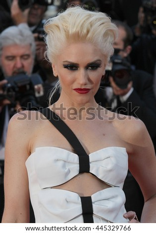 CANNES - MAY 20, 2011: Gwen Stefani seen at the Cannes Film Festival on May 20, 2011 in Cannes