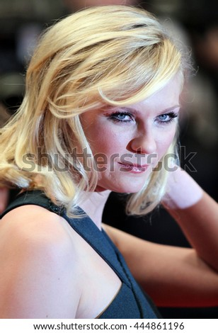 CANNES - MAY 18, 2011: Kirsten Dunst attends the Cannes Film Festival on May 18, 2011 in Cannes