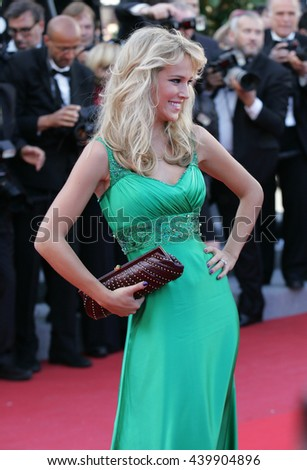 CANNES - MAY 22, 2012:  Luisana Lopilato attends the Killing Them Softly Premiere - 65th Annual Cannes Film Festival on May 22, 2012 in Cannes - stock photo