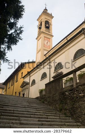 Canonica al Lambro (Brianza, Lombardy, Italy) - Belfry of the church called Madonna della Neve
