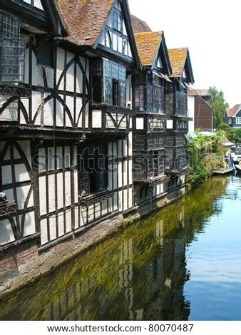 Canterbury - stock photo