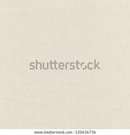 Canva surface beige texture background - stock photo