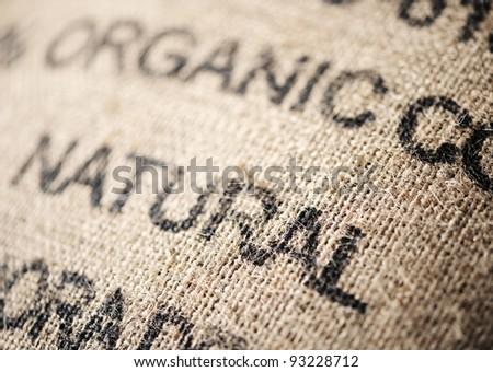 canvas Bag exportation - stock photo