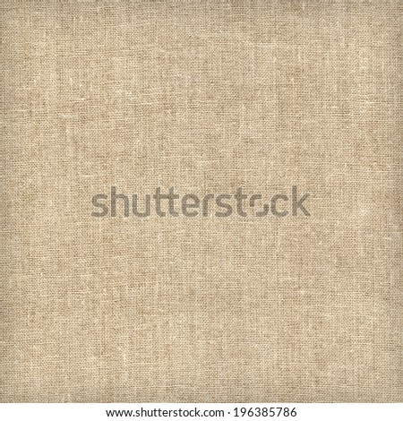 Canvas fabric texture or background - stock photo