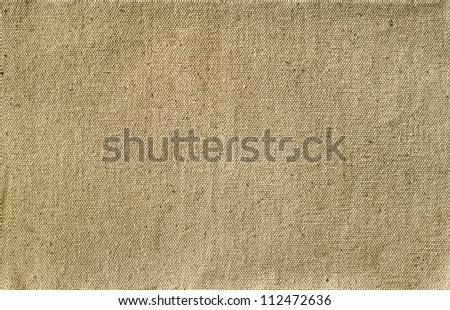 canvas texture for the background - stock photo