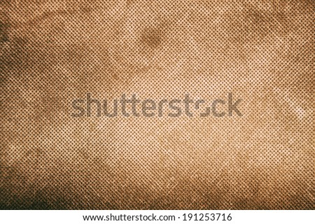 Canvas texture vintage background. - stock photo