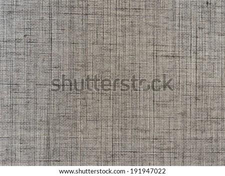 canvas, unbleached linen texture natural background - stock photo