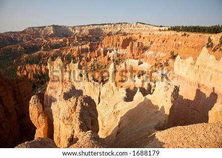 Canyon View Bryce Canyon National Park Utah - stock photo