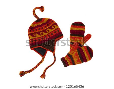 Cap and gloves - stock photo