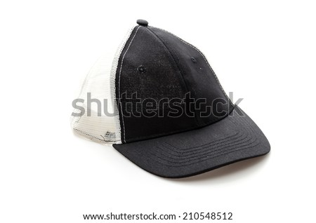 Cap isolated on white - stock photo