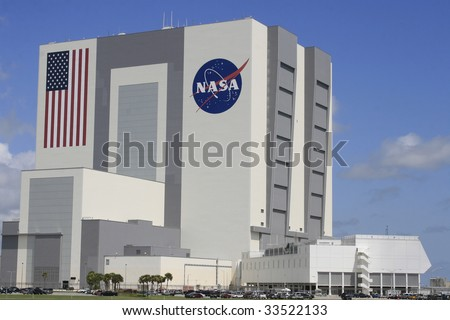 CAPE CANAVERAL, FL - JULY 11: Clouds form around NASA's Vehicle Assembly Building prior to the canceled launch of launch of STS-127 from Kennedy Space Center on July 11, 2009 in Cape Canaveral, Fl.