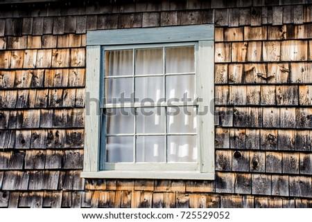 Shake Roof Life Expectancy Cedar Shingle Stock Photos
