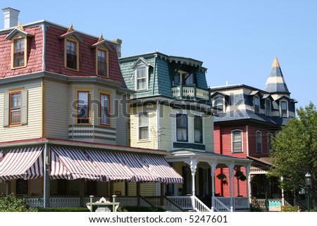 Cape May New Jersey USA Resort Town View Photo