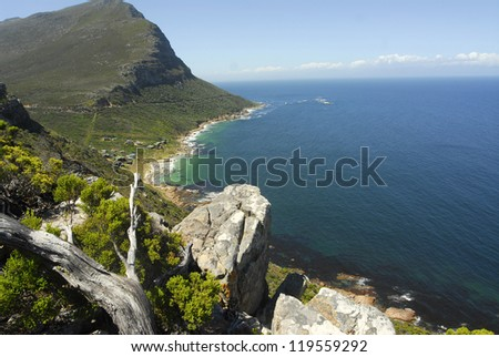 Cape Point National Park, Cape Town - South Africa - stock photo