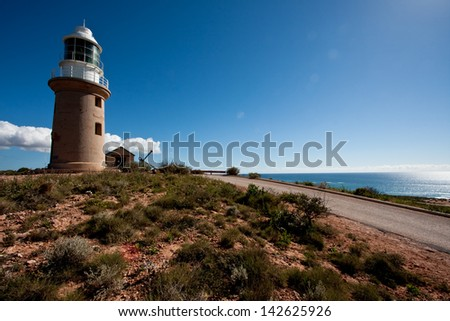 Cape Range National Park, Ningaloo Reef - Vlamingh Head Lighthouse, near Exmouth, Western Australia.