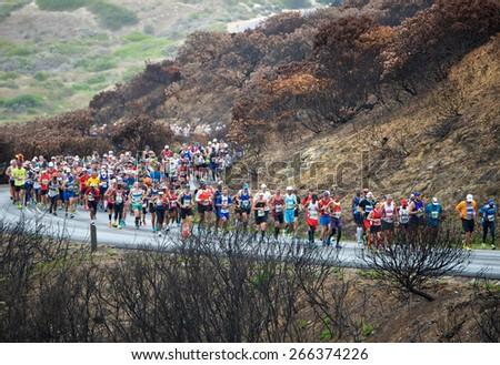 town cape table weg april  ou   kaapse runners cape town