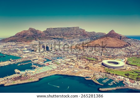 Cape Town, South Africa - stock photo