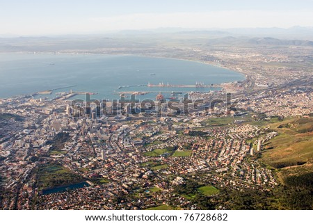 Cape Town, South Africa. - stock photo