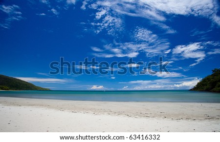 Cape Tribulation, Tropical North Queensland, Australia - stock photo