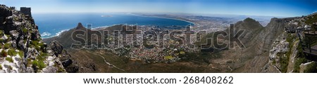 Capetown - Panoramic View - South Africa