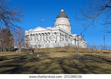 Capitol Building in Salt Lake City, Utah, United States - stock photo