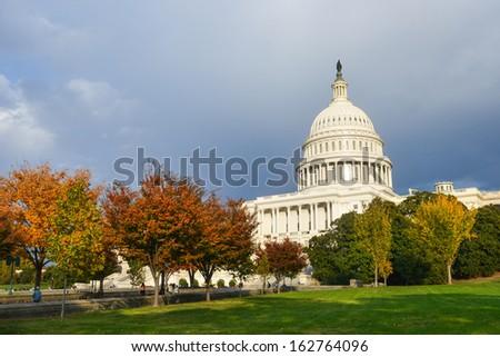 Capitol Building in Washington DC, United States - stock photo