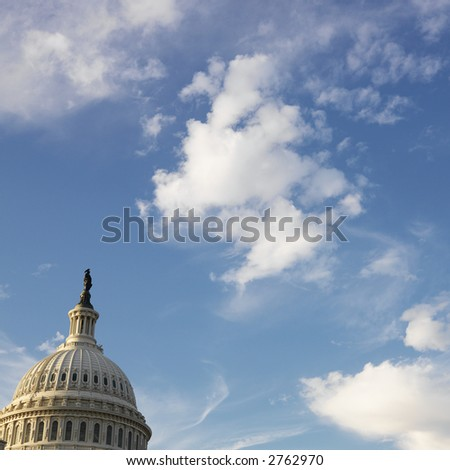 Capitol Building in Washington, DC, USA. - stock photo