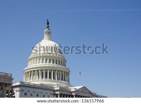 Capitol Hill, Washington DC - stock photo