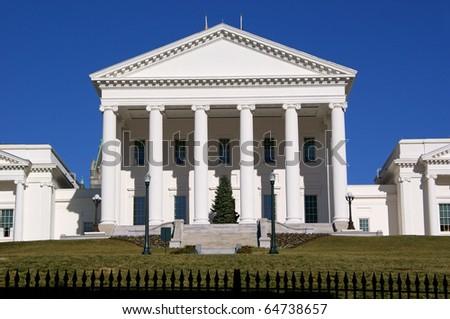 Capitol in Richmond, Virginia - stock photo