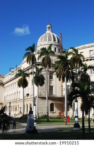 Capitol of Havana - stock photo