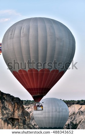 Cappadocia has unreal amazing landscape which makes Balloon flights one of worlds the top 3
