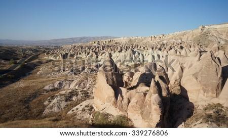 Cappadocia Turkey. - stock photo