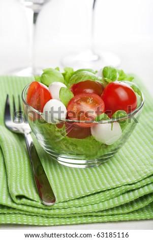 caprese salad - stock photo