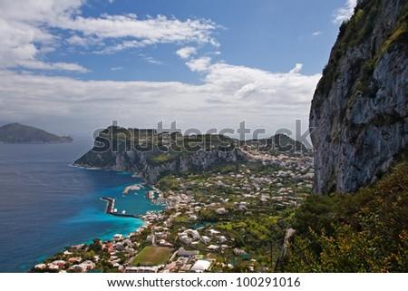 capri island, italy - stock photo