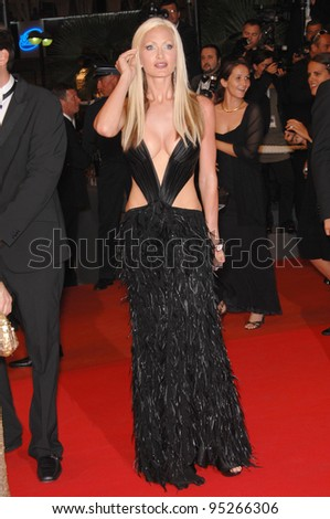 "Caprice Bourret at screening for ""Death Proof"" at the 60th Annual International Film Festival de Cannes. May 22, 2007  Cannes, France.  2007 Paul Smith / Featureflash"