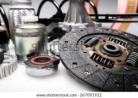 Car, bearing, detail. - stock photo