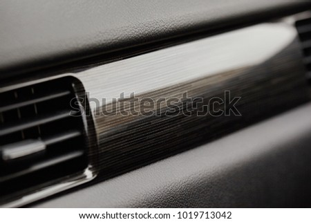 The Air Flow Inside Car Detail Interior Ducts