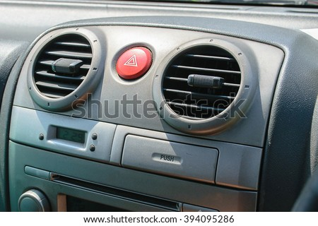 car emergency lights - stock photo