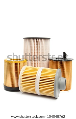Car filters - stock photo