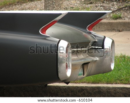 car fins - stock photo